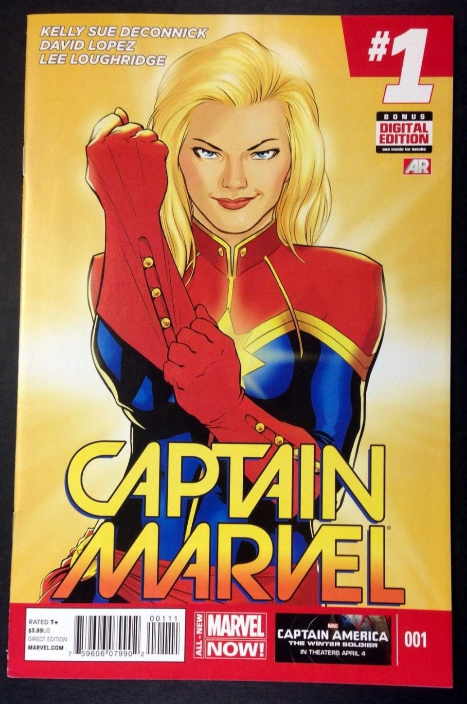captain marvel 2014