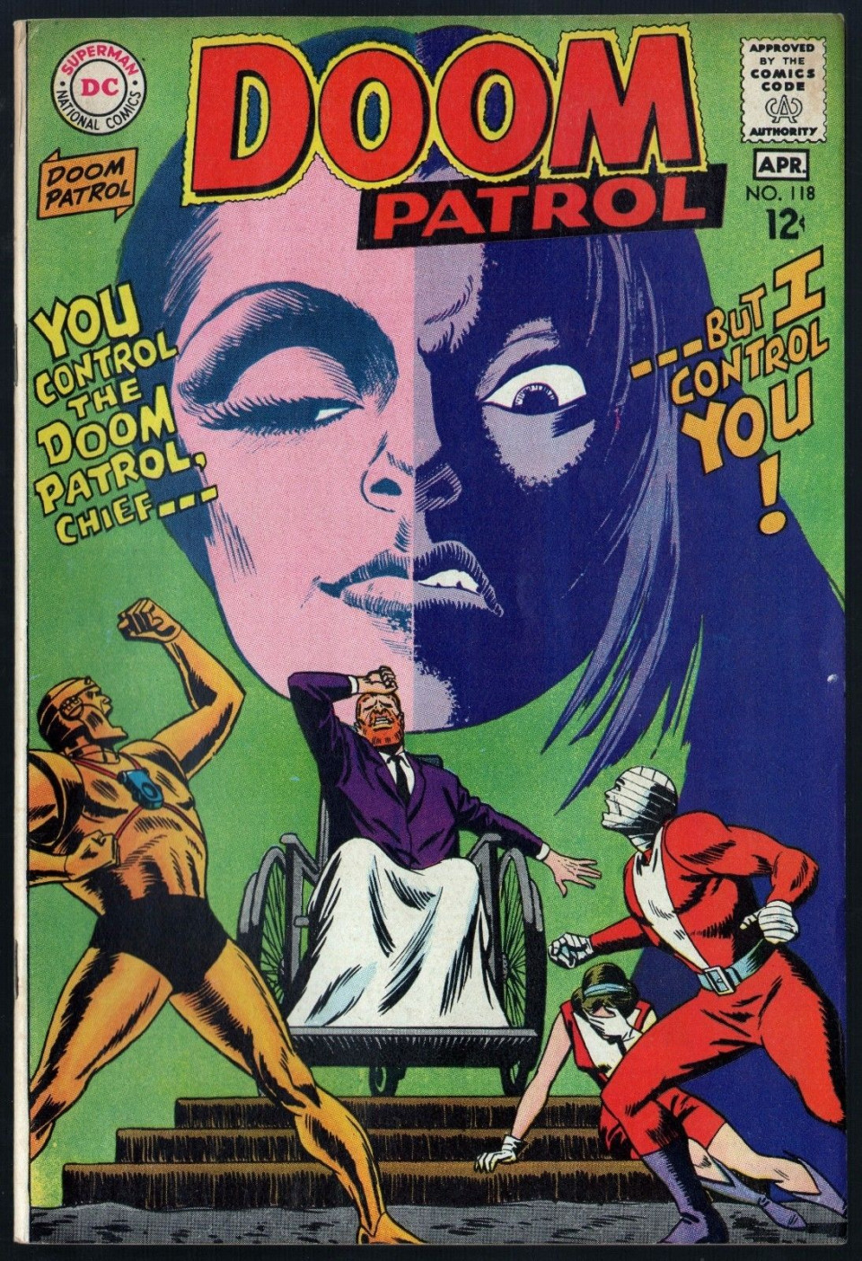 Doom Patrol 1964 118 Fn Vf 7 0