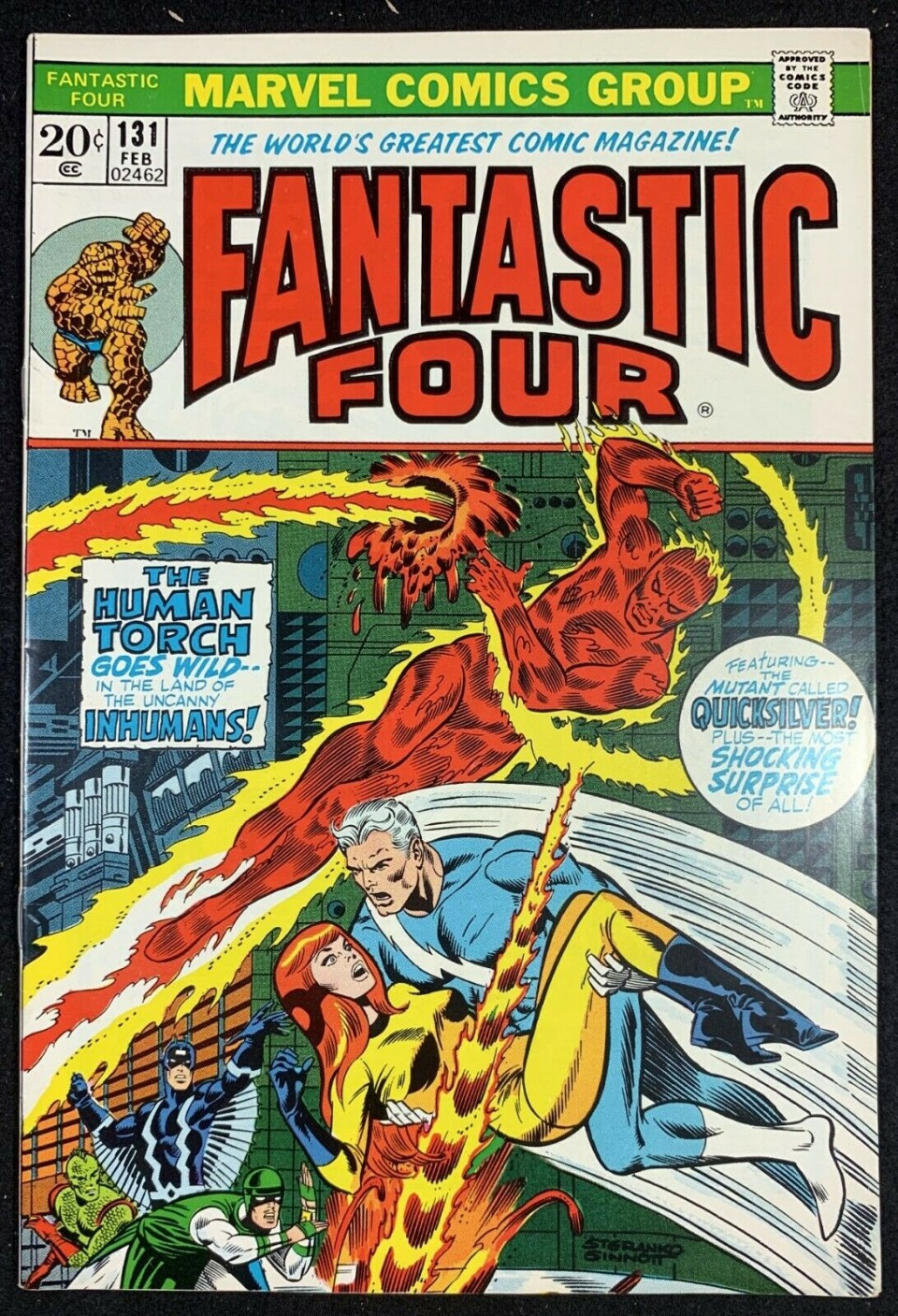Fantastic Four 371 Red Cover High Grade Marvel Comic CL44-114