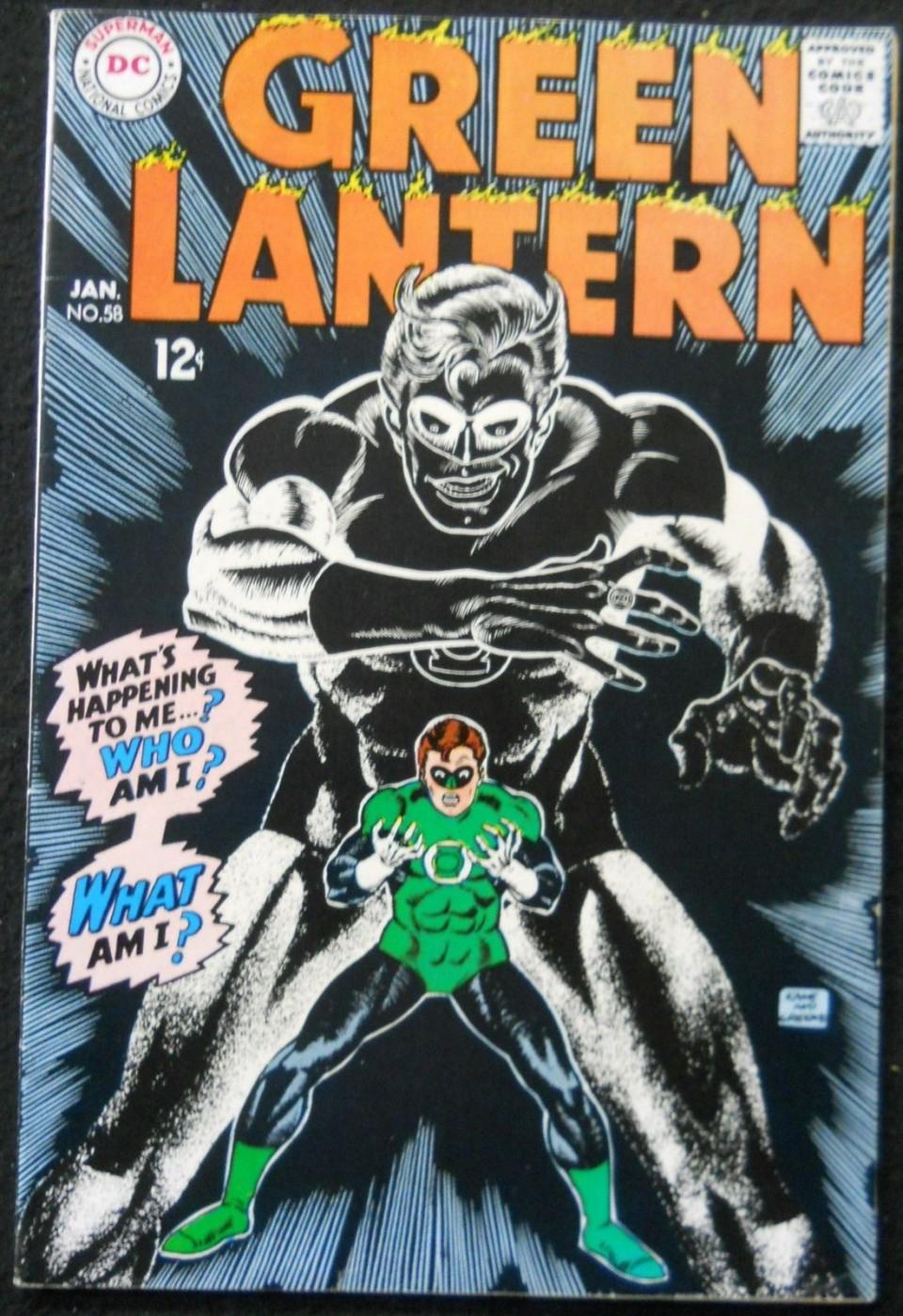 GREEN LANTERN 58 VF Silver Age Comics