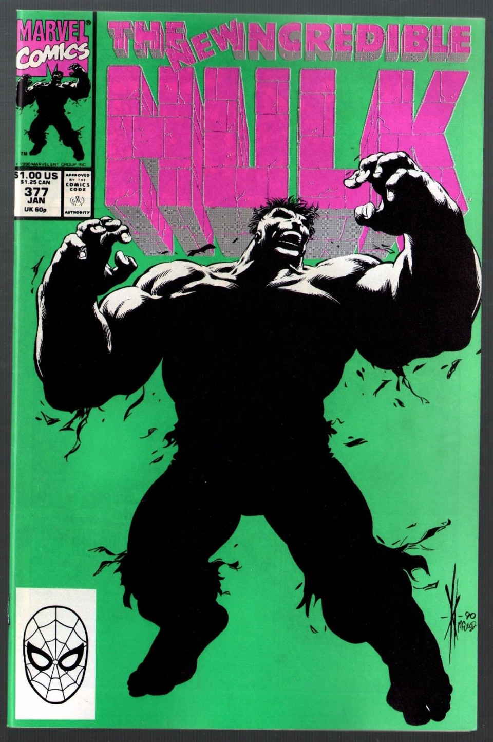 Incredible Hulk 377 1st 2nd Prints Lot Of Two Comics