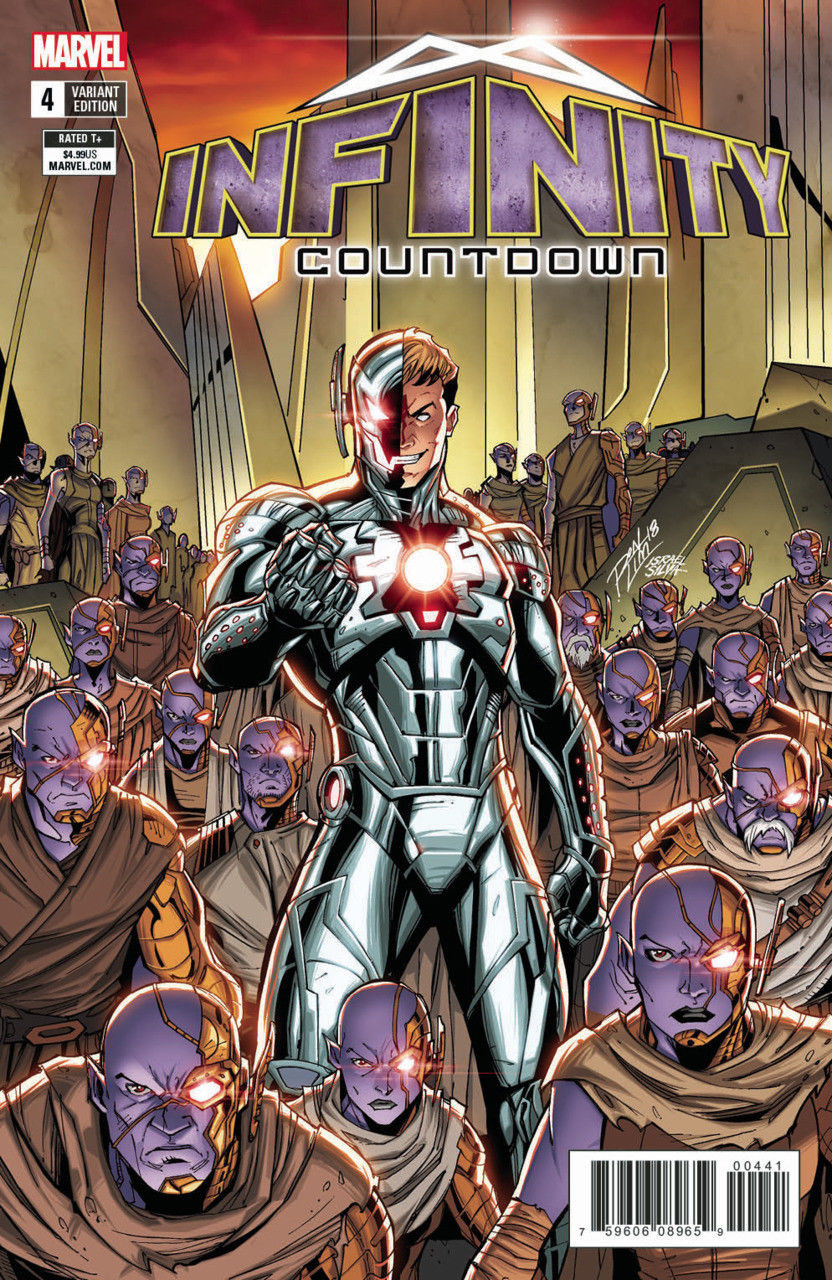 infinity countdown 2018 4 vf nm ron lim variant cover