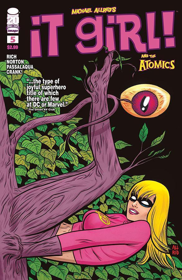 IT GIRL AND THE ATOMICS #5 NM IMAGE COMICS MIKE ALLRED