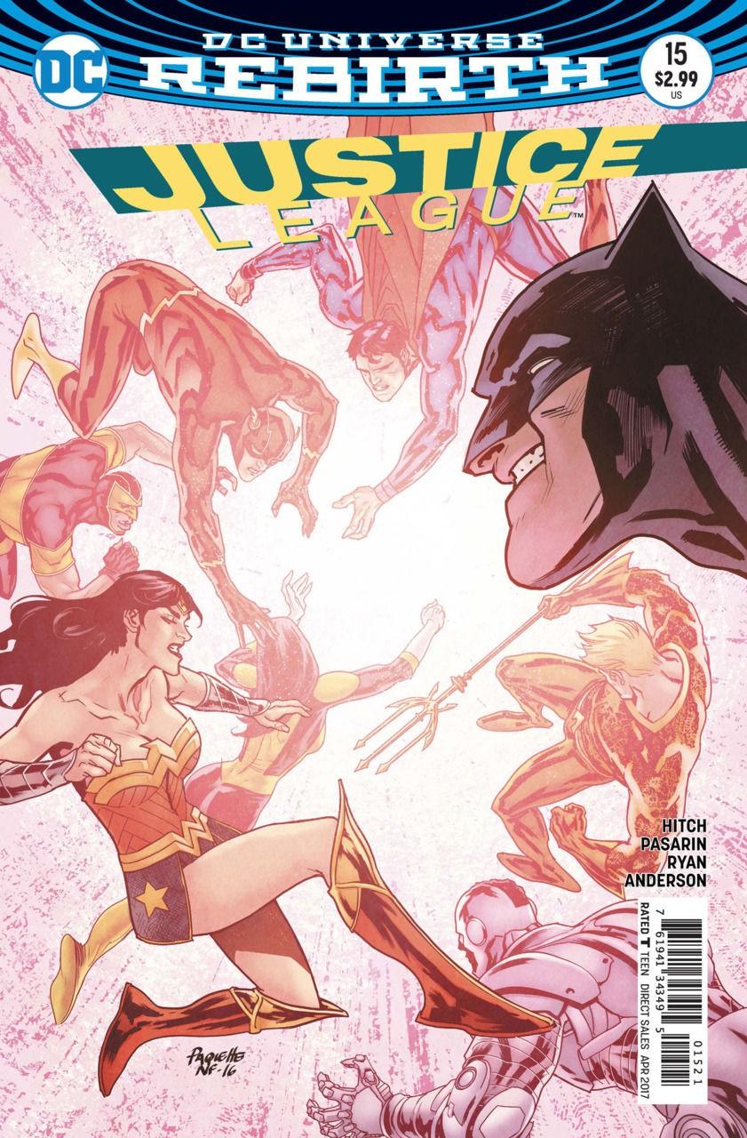 Justice League 2016 #15 VF//NM Paquette Cover DC Universe Rebirth