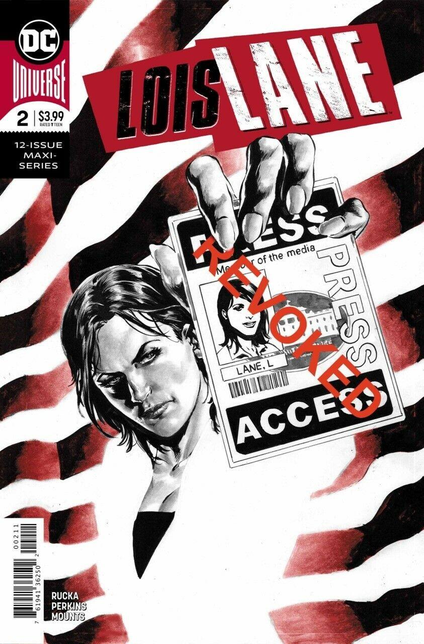 Lois Lane #1 regular cover DC Comics 2019
