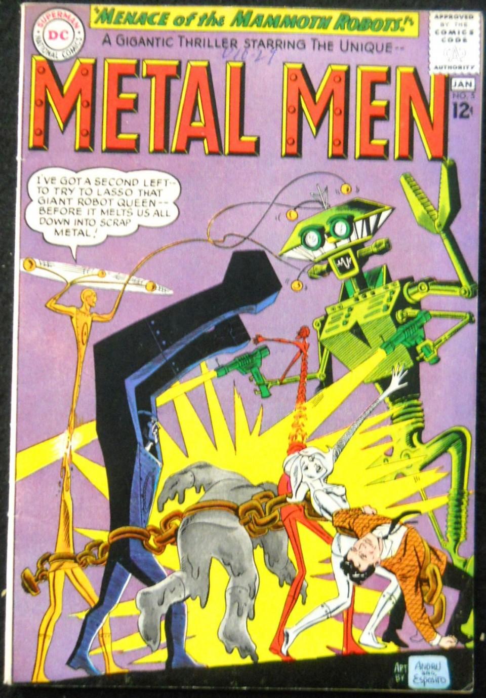 METAL MEN #5 FN/VF