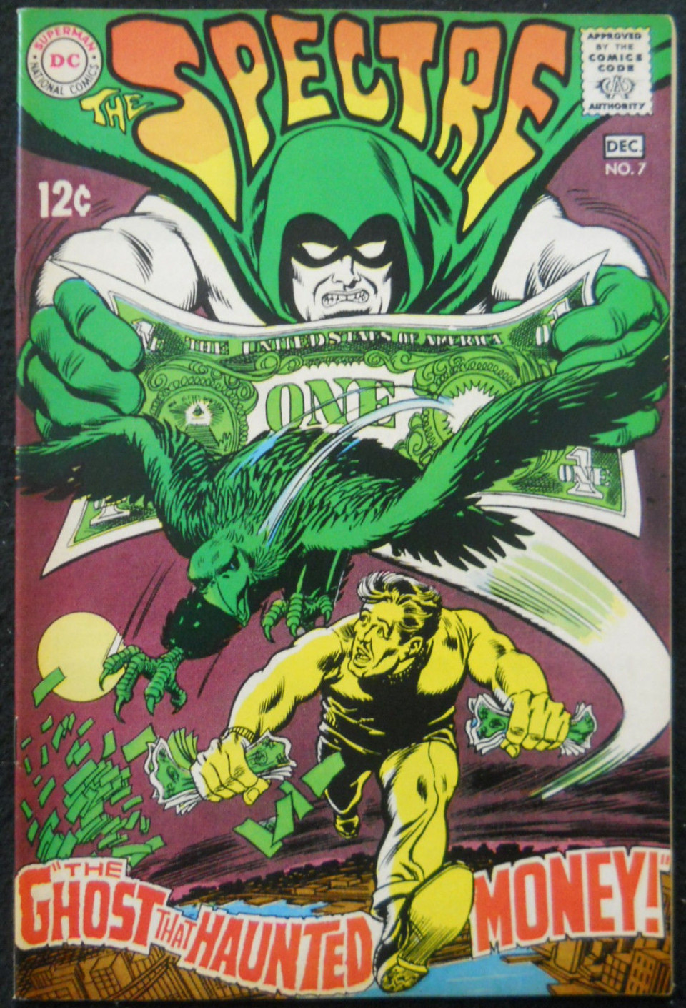 SPECTRE #7 VF+ ANDERSON INKS