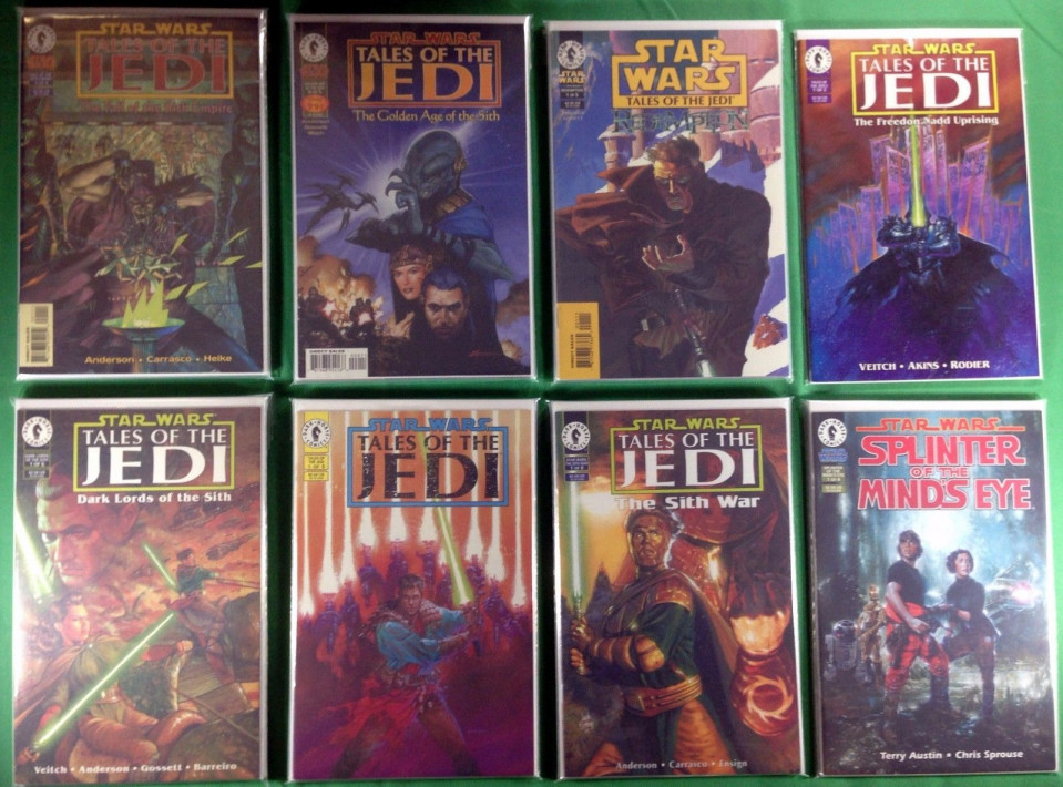 STAR WARS:TALES OF THE JEDI COMPLETE SET !!!!!