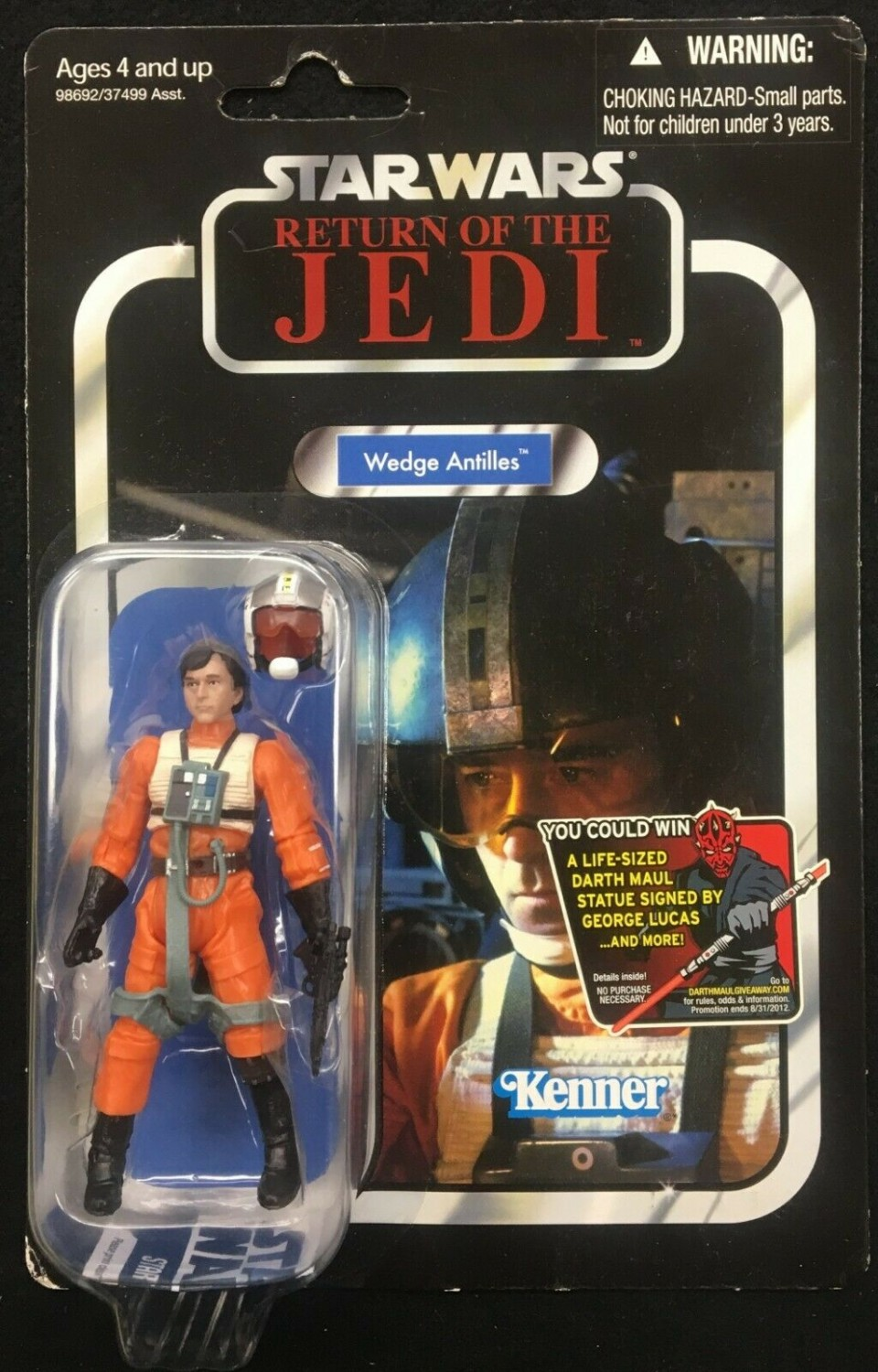 Star Wars Vintage Collection Tvc VC28 Wedge Antilhas Piloto Solto Completo