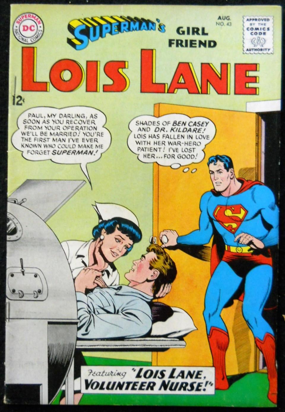 Supermans girlfriend lois lane 43 vg silver age comics supermans girlfriend lois lane 43 vg altavistaventures Choice Image