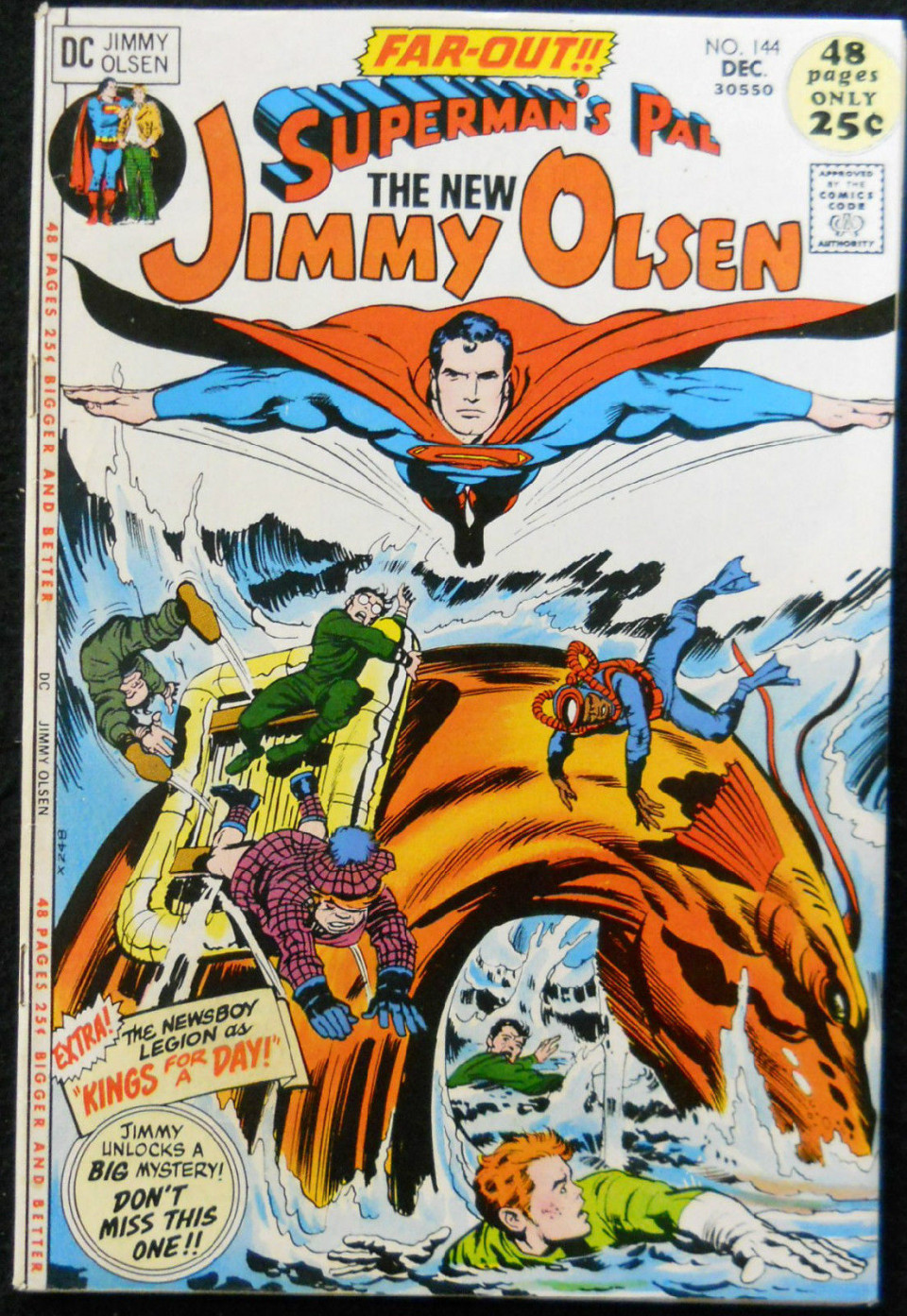 Superman/'s Pal Jimmy Olsen #4 DC VF//NM Comics Book