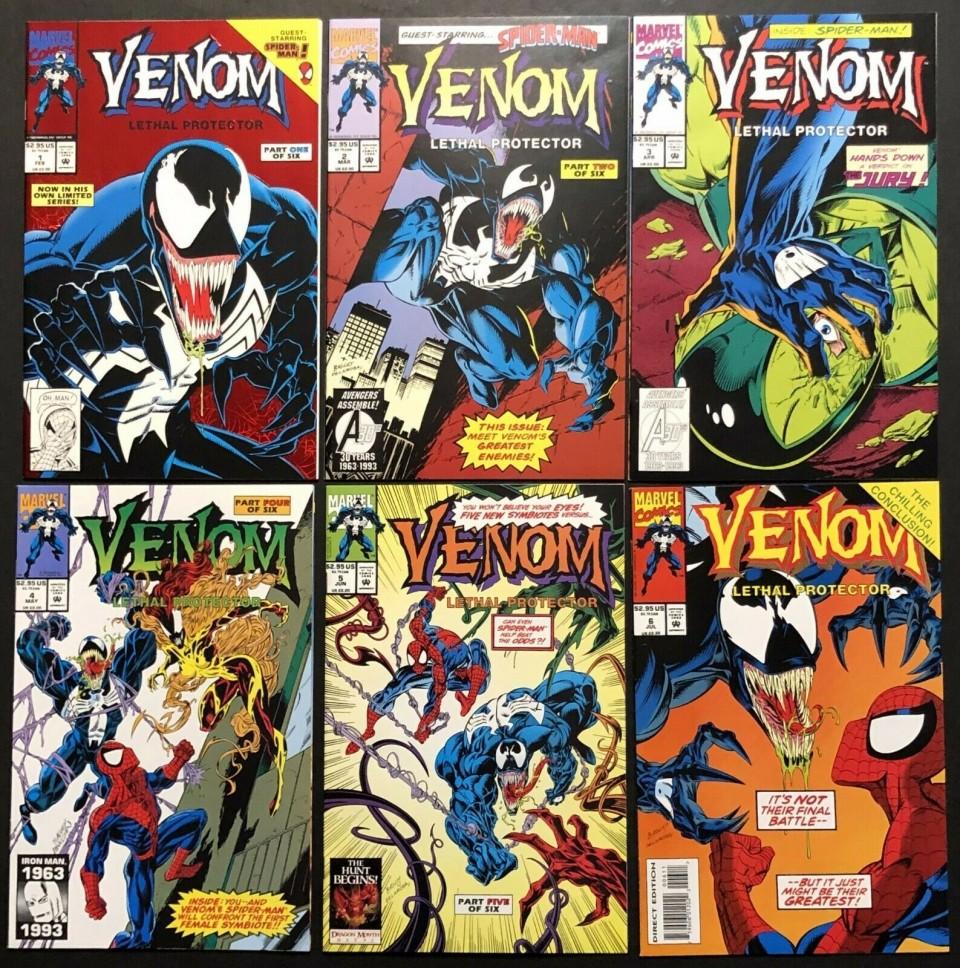 Lethal Protector #1 9.4 Venom NM Feb 1993, Marvel