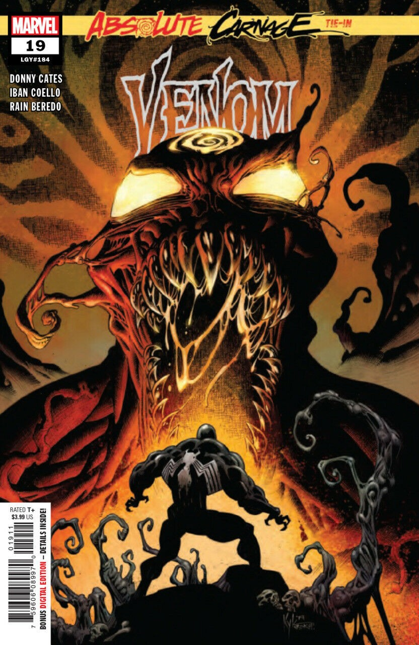#183 2018 VF//NM Absolute Carnage Tie-In Venom #18