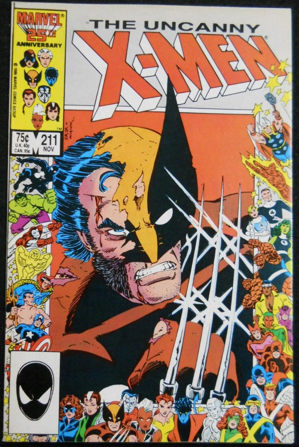 x men 211 vf mutant massacre begins silver age comics. Black Bedroom Furniture Sets. Home Design Ideas