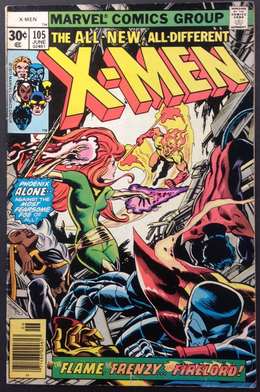 x men 1963 105 fn 5 5 phoenix vs firelord