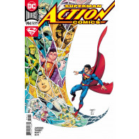Action Comics (2016) #'s 994 995 996 997 998 999 1000 Near Complete Booster Shot