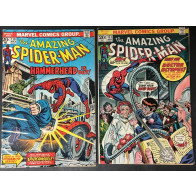 Amazing Spider-Man (1963) 130 131 132 133 137 138 139 all missing value stamp