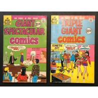 Archie 160 page Giants lot of 4 (1975) Average Grade VG/FN (5.0)