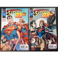 Superman Gen 13 (2000) 1 2 3 complete set with Campbell variants 6 comics total