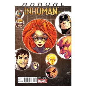 Inhuman Annual #1 variant (2015) VF/NM (9.0) Inhumans