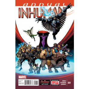 Inhuman Annual #1 (2015) VF/NM (9.0) Inhumans