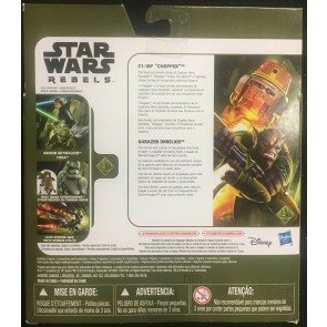 Star Wars Rebels 2 pack Chopper & Zeb 2015 Hasbro