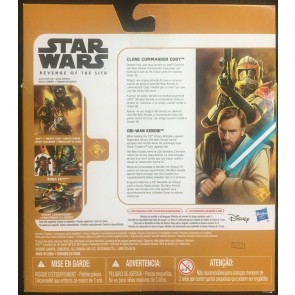Star Wars Revenge of the Sith 2 pack clone Commander Cody & Obi-Wan 2015 Hasbro