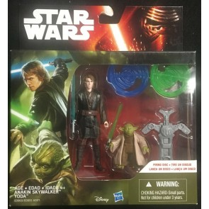 Star Wars Revenge of the Sith 2 pack Yoda & Anakin Skywalker 2015 Hasbro