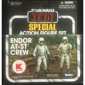Star Wars Vintage Collection (2012) Endor AT-ST Crew K-mart Exclusive 2 Pack