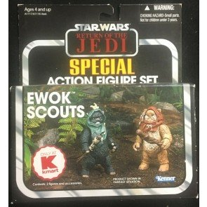 Star Wars Vintage Collection (2012) Ewok Scouts Kmart Exclusive Figure 2 Pack