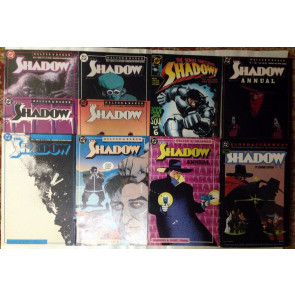 The Shadow (1987) #1-19 + Annuals & Blood and Judgment TPB by Chaykin lot of 22