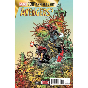 100TH ANNIVERSARY SPECIAL: AVENGERS (2014) #1 VF+ - VF/NM
