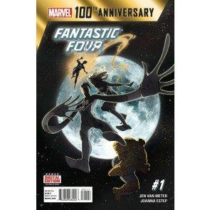 100TH ANNIVERSARY SPECIAL: FANTASTIC FOUR (2014) #1 VF/NM