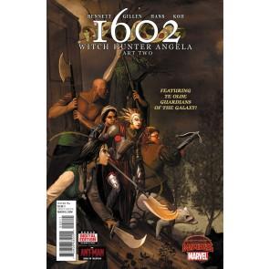 1602 WITCH HUNTER ANGELA (2015) #2 VF/NM SECRET WARS