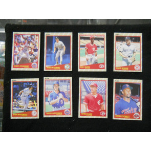 1989 FLEER SUPERSTARS #'s 4,11,35,29,33,25,39,31 BOGGS MATTINGLY STRAWBERRY