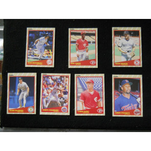 1989 FLEER SUPERSTARS #'s 4,11,35,29,33,39,31 BOGGS MATTINGLY STRAWBERRY