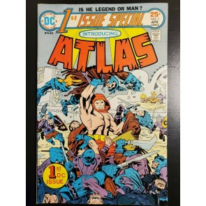 1ST ISSUE SPECIAL #1 (1975) VF (8.0) 1ST APPEARANCE OF ATLAS BY JACK KIRBY |