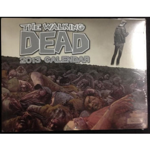2013 THE WALKING DEAD CALENDAR STILL SEALED FREE SHIPPING AMC