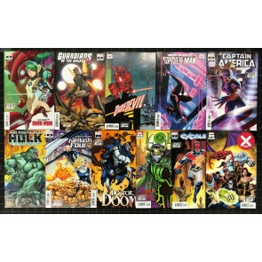 2099 Variant Month Lot of 11 comics NM Doom Loki Daredevil Hulk X-Men FF + More