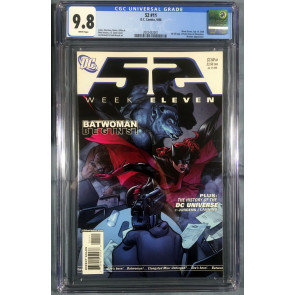 52 (2006) #11 CGC Graded 9.8 1st Full Appearance Batwoman Kate Kane (2002432001)