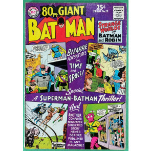 80 page Giant (1964) #12 VG+ (4.5) featuring Batman