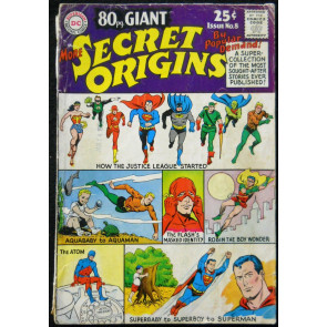 80 PAGE GIANT #8 GD/VG MORE SECRET ORIGINS OF THE JLA; CARMINE INFANTINO