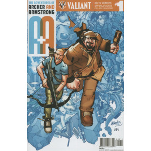 A & A Adventures of Archer & Armstrong (2016) #1 VF/NM Cover A Valiant