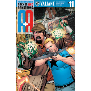A & A Adventures of Archer & Armstrong (2016) #11 VF/NM Cover B Valiant