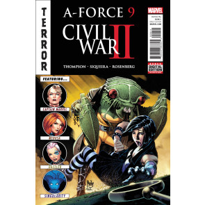 A-Force (2016) #9 VF/NM Civil War II Tie-In