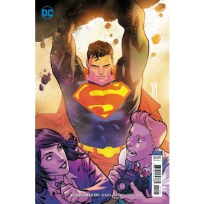 Action Comics (2016) #1011 NM (9.4) Francis Manapul variant cover Superman