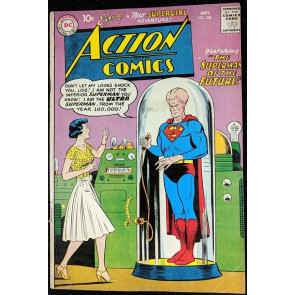 Action Comics (1938) #256 VG+ (4.5) Superman Supergirl back up story early app