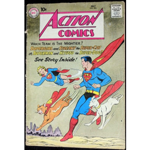 Action Comics (1938) #266 GD- (1.8) 5th Supergirl cover Krypto Streaky cover