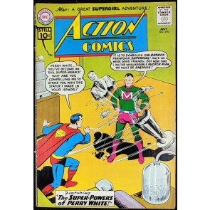 Action Comics (1938) #278 GD+ (2.5) featuring Superman