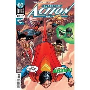 Action Comics (2016) #1021 VF/NM Romita Jr Regular & Lucio Parrillo Variant Set